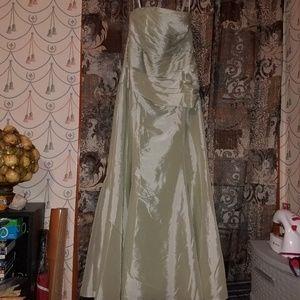 Jade, Light Mint Green dress, Size 12, Strapless